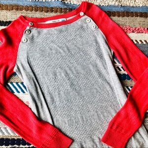 Anthropologie Sparrow | Colorblock Light Sweater